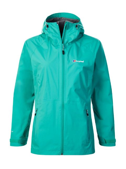 Berghaus Womens Stormcloud Shell Jacket - Waterproof / Adjustable Hood